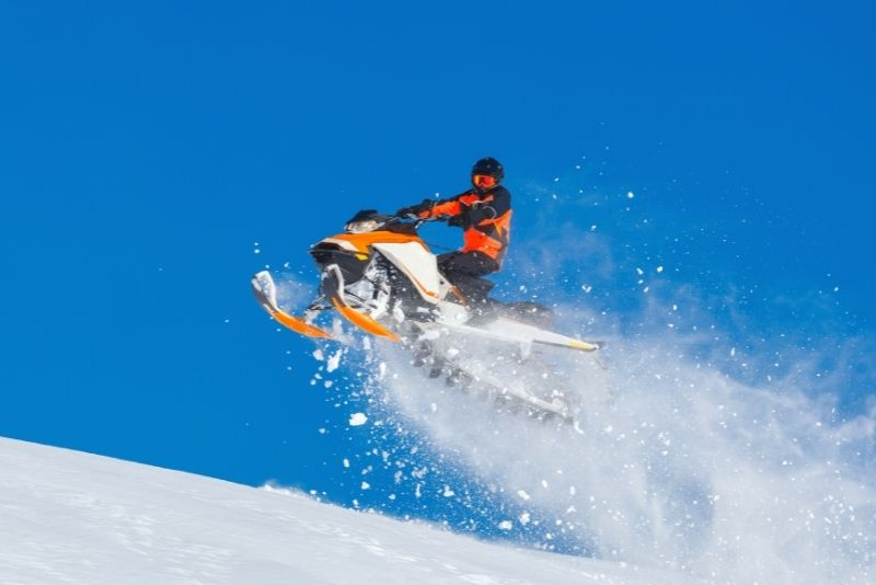 snowmobiling in Moscow