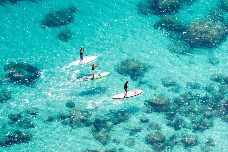stand-up paddleboarding in Panama City Beach
