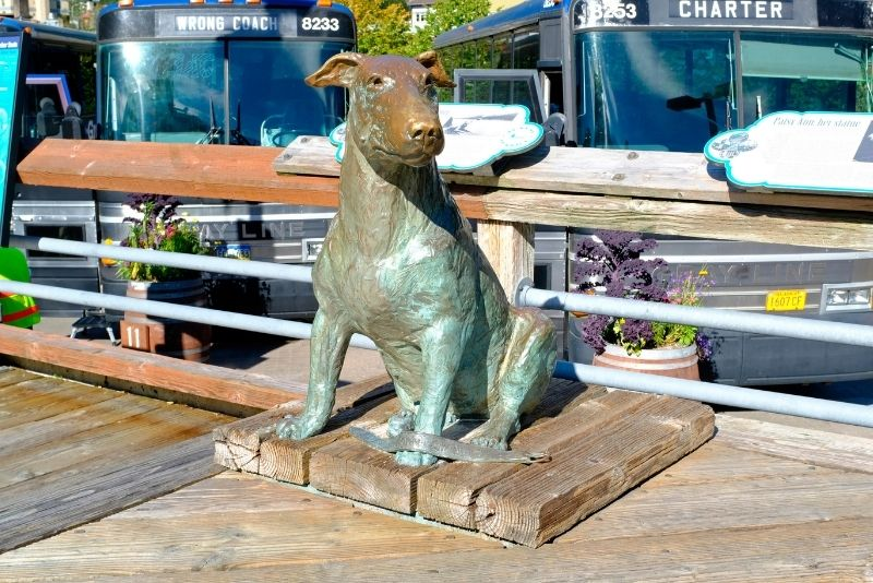 statue of Patsy Ann, Juneau