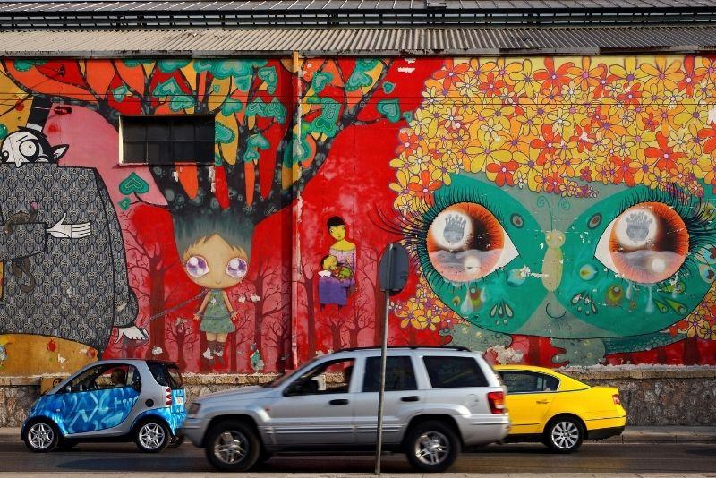 street art tours in Athens