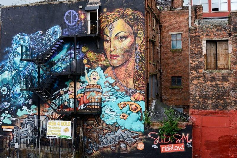 street art tours in Manchester