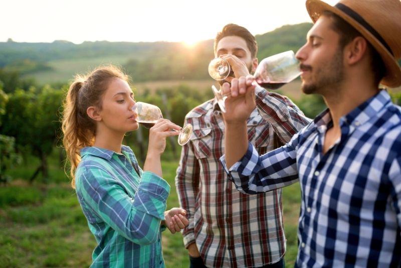 Weinprobe in Mailand