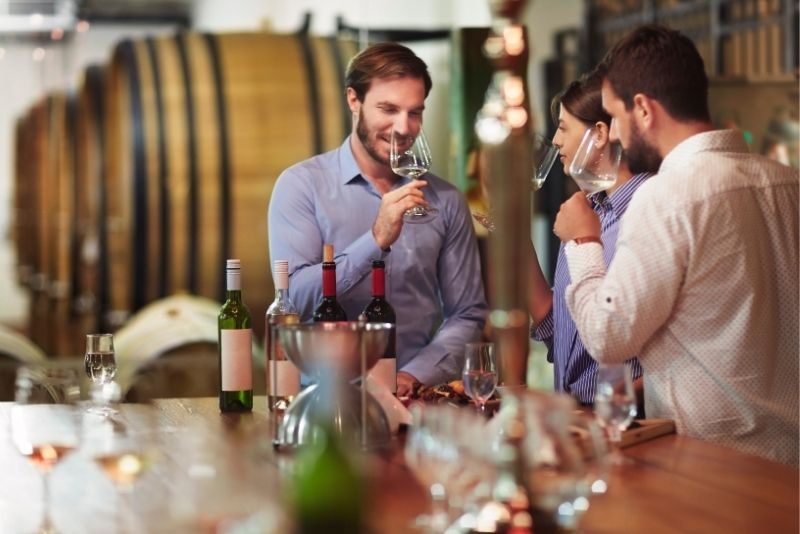 wine tours and tastings in Baltimore