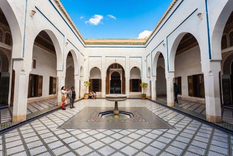 Bahia Palace in Marrakech