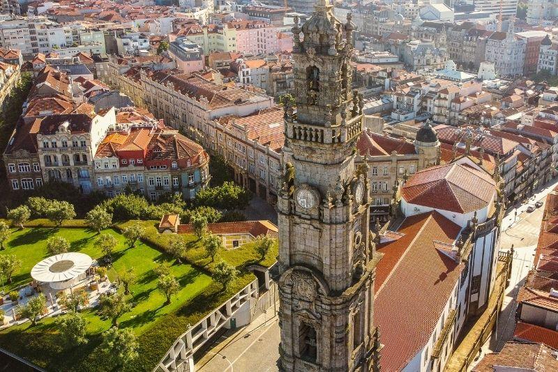 Clérigos Tower, Porto