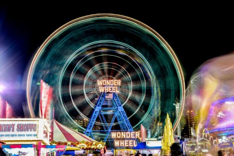 Deno's Wonder Wheel Amusement Park, Brooklyn