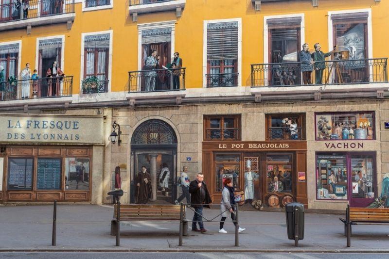 Fresque des Lyonnais, Lyon street art