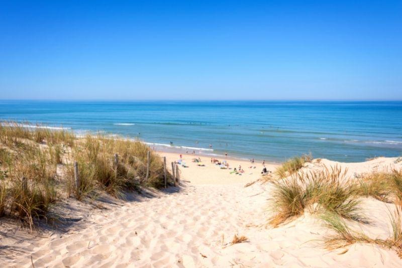 Lacanau beach, Gironde