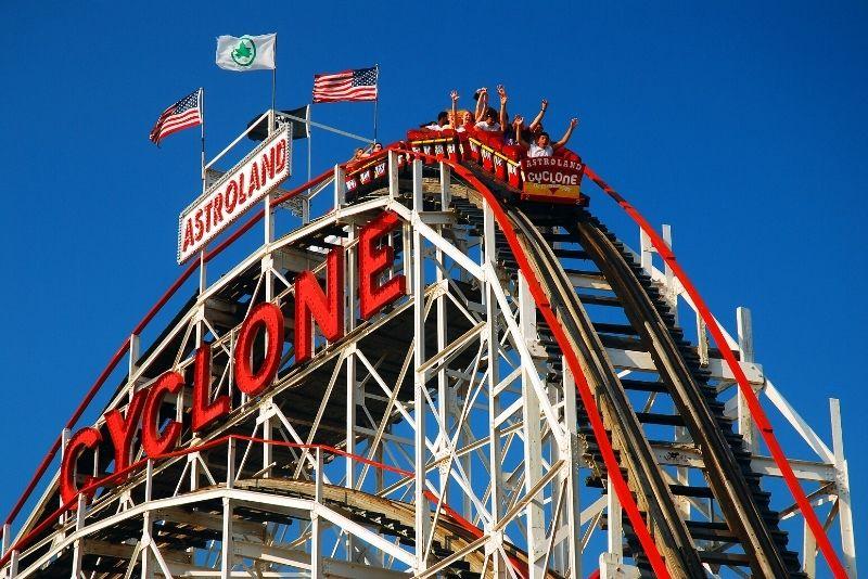 Luna Park in Coney Island, Brooklyn