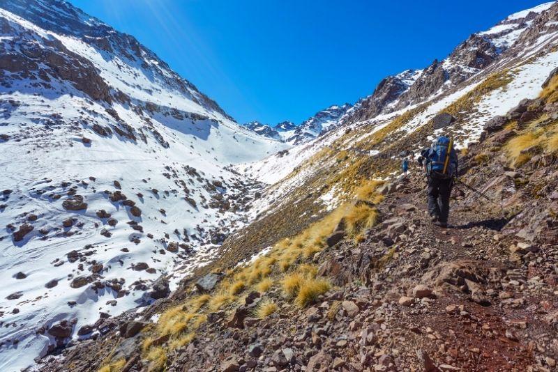 Mt. Toubkal hiking tour from Marrakech