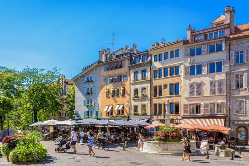 Place du Bourg-de-Four, Geneva
