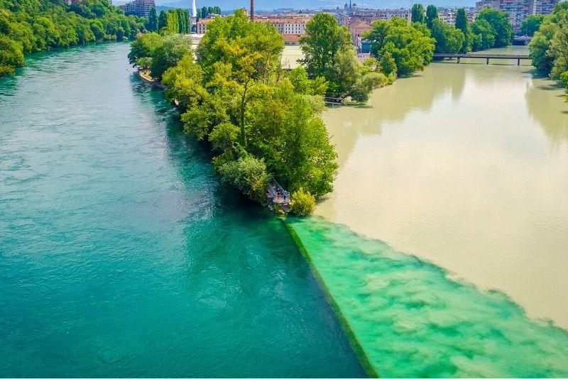 Pointe de la Jonction, Geneva