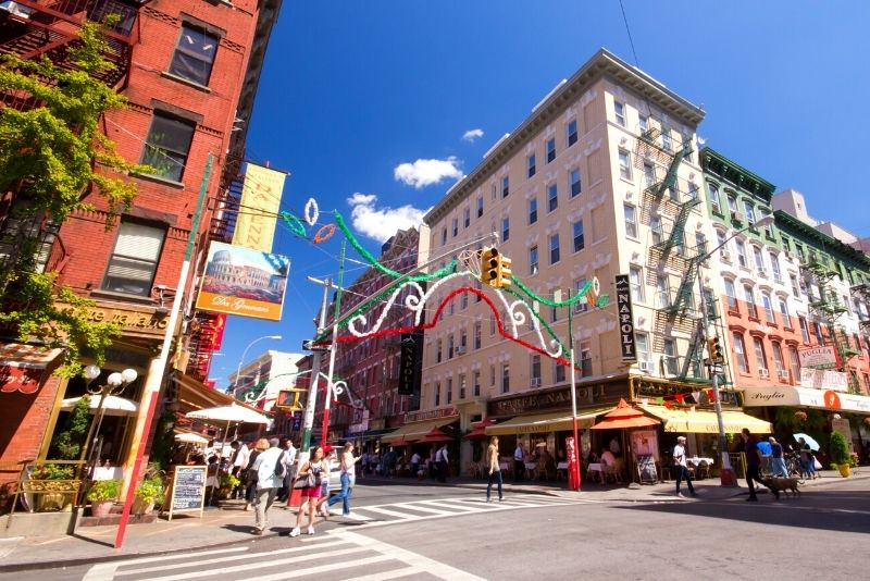 SoHo and Little Italy tours from Manhattan