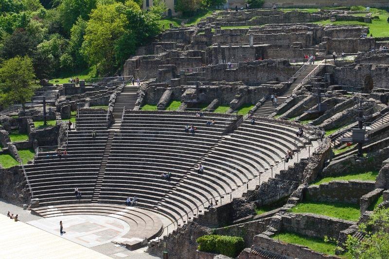 The Roman Theaters, Lyon