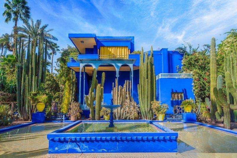 best gardens in Marrakech