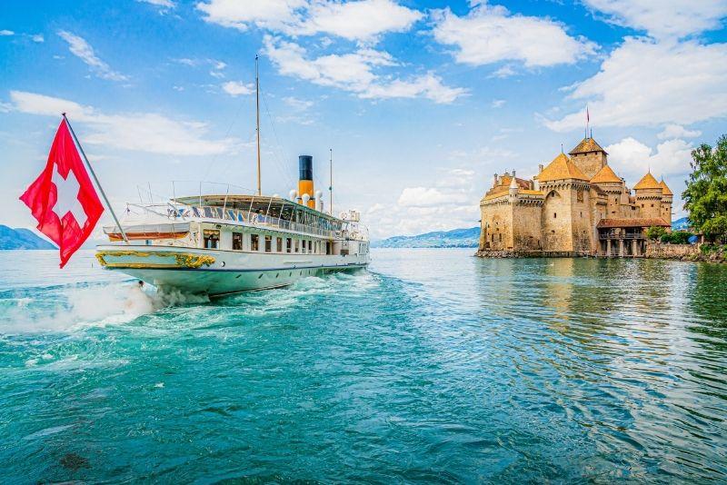 boat tours in Geneva