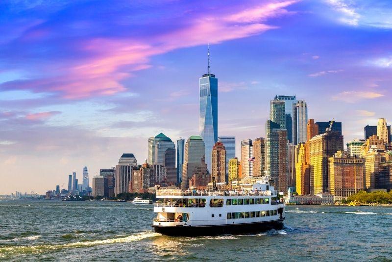 boat tours in Manhattan