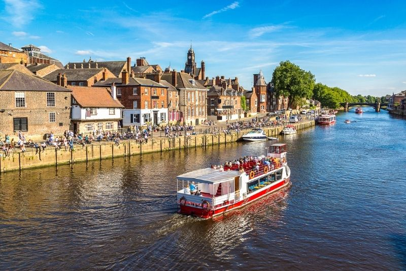 boat tours in York