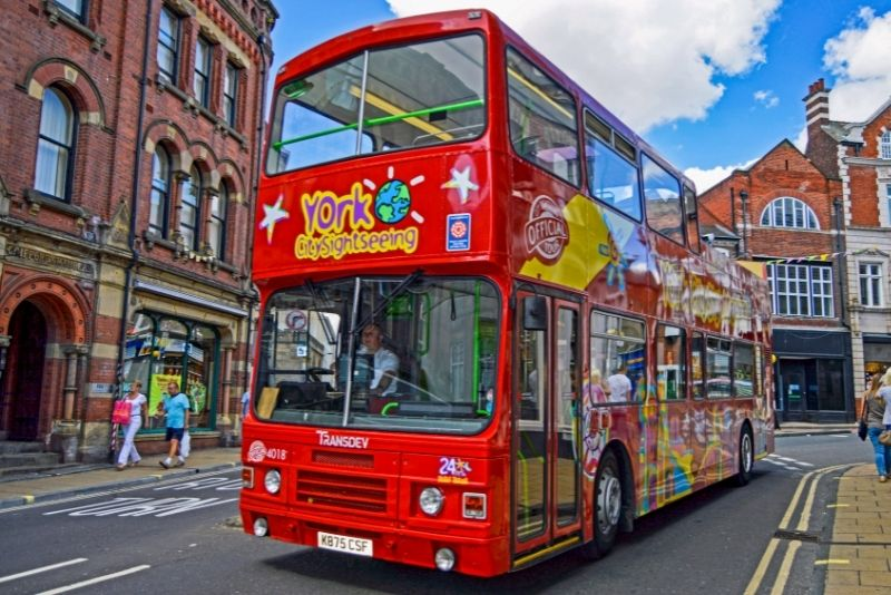 bus tours in York