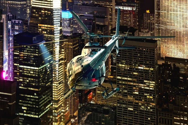 helicopter tours in Manhattan