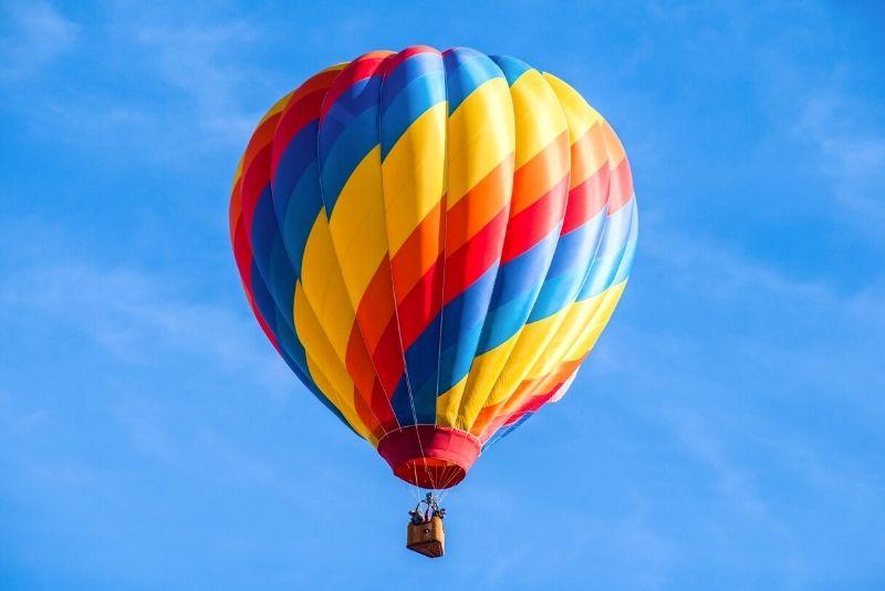 hot air balloon rides in Marrakech