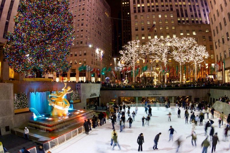 ice skates, Manhattan