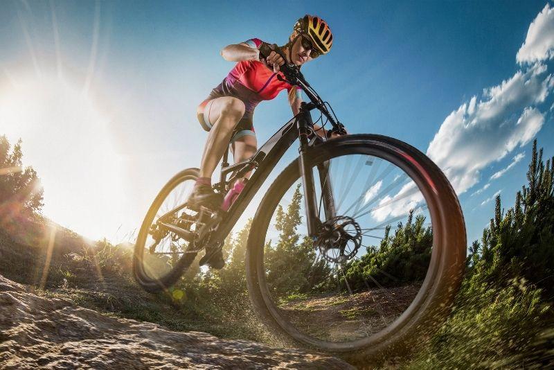 mountain biking, Banff