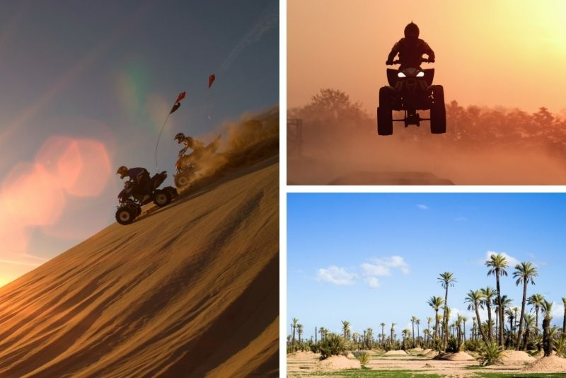 quad tour in Marrakech