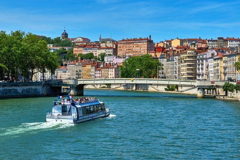 sightseeing cruise in Lyon