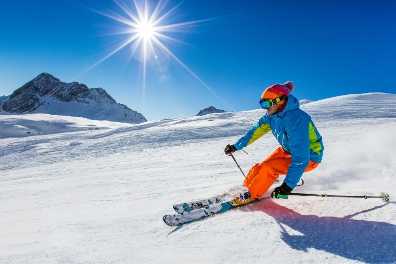 ski in Banff Sunshine Village