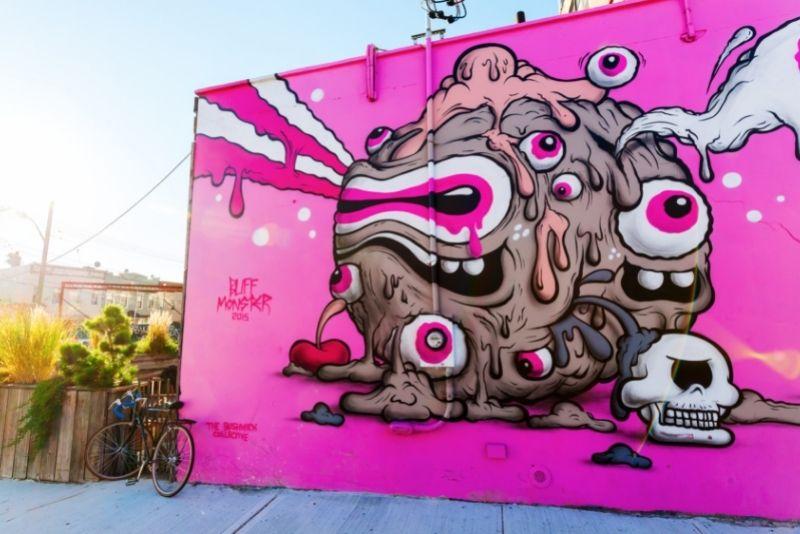 street art tours in Brooklyn