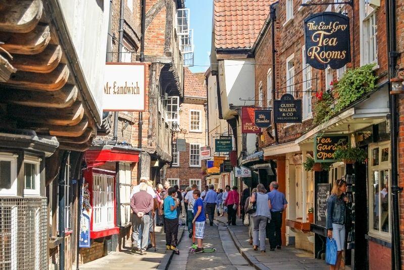 walking tours in The Shambles, York