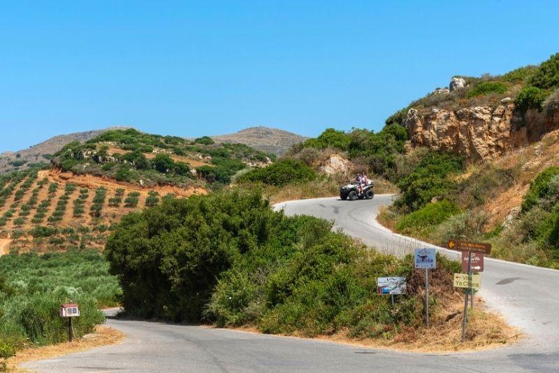 ATV tour in Crete