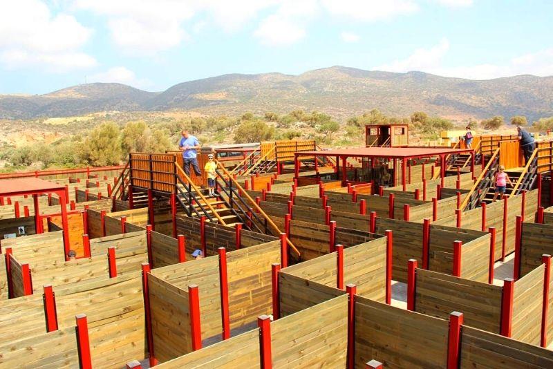 Labyrinth Park theme park, Crete