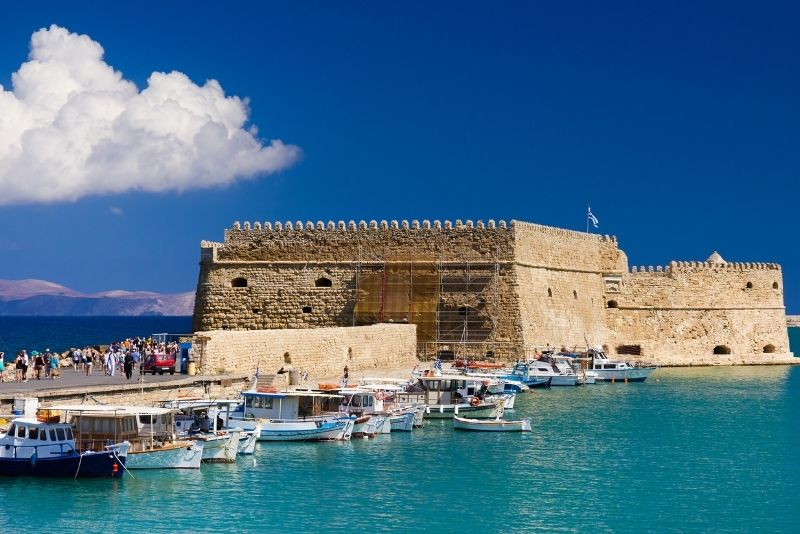 Rocca a Mare Fortress, Crete