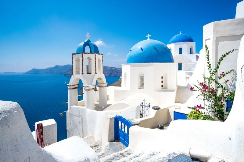 Santorini day trip from Crete