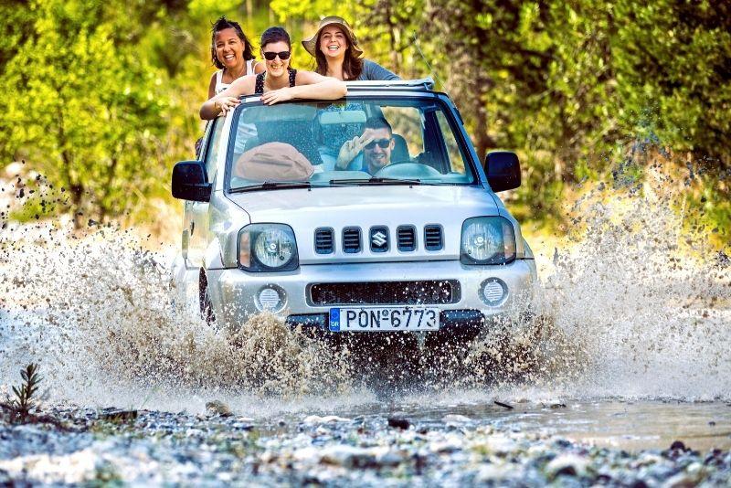 jeep tour in Crete