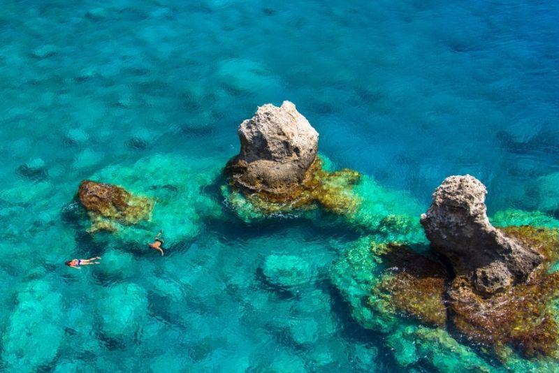 snorkeling tours in Crete